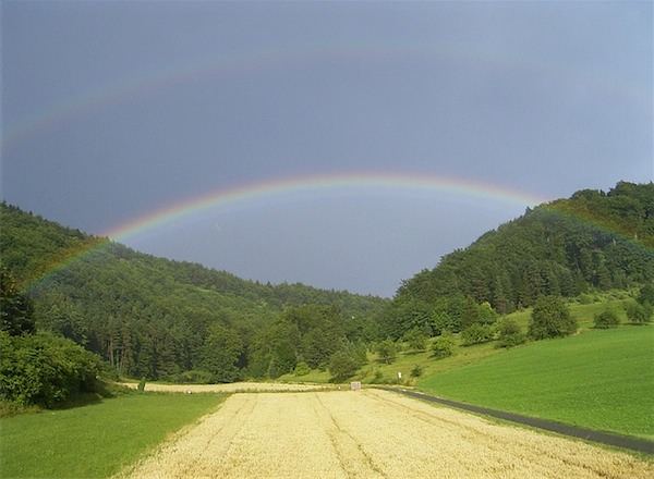 人生うまくいかないときこそ楽しむ 雨が降るからに虹がでる